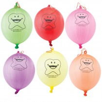Happy Tooth Punching Balloons