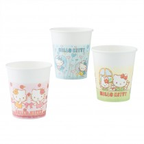 Hello Kitty Poly Coated Paper Cups