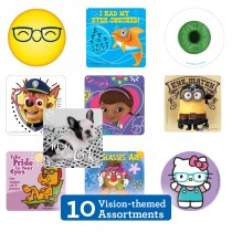 Eyecare Sticker Sampler