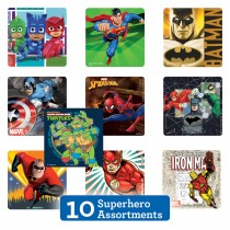 Superhero Sticker Sampler
