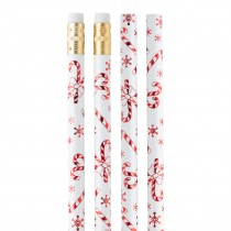 Peppermint Candy Cane Pencils