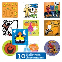 Halloween Sticker Sampler
