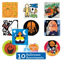 Halloween Sticker Sampler
