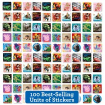 Best of the Best Sticker Sampler