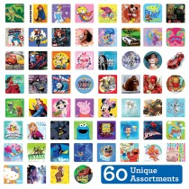 SmileMakers MEGA Character Sticker Sampler