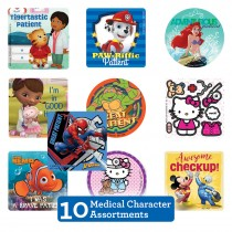 Medical Character Sticker Sampler
