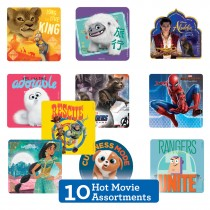 Hot Summer Movie Sticker Sampler