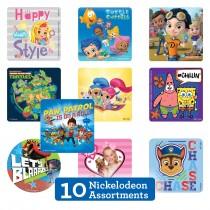 Nickelodeon Sticker Sampler
