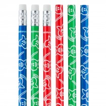 Smiley Glitz Pencils