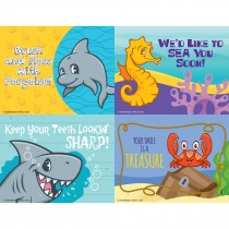 Sea Life Pals Assorted Laser Cards