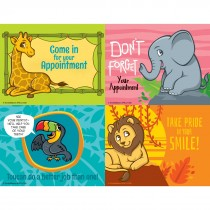 Jungle Friends Assorted Laser Cards