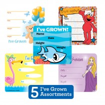 I've Grown Sticker Sampler