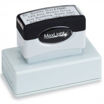 Custom 4 Line Address Stamp