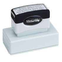 Custom 3 Line Address Stamp