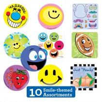 Smiley Sticker Sampler