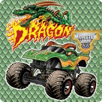 Monster Jam Fan Favorites Stickers