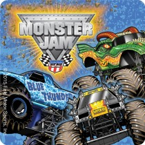 Monster Jam Truck Trios Stickers
