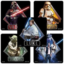 Star Wars Classic Characters Stickers