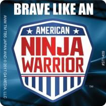 American Ninja Warrior Brave Patient Stickers