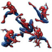 Spider-Man™ Shaped Stickers