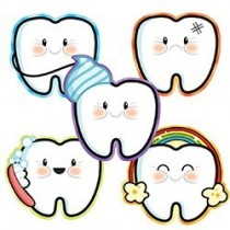 Tooth Emoji Stickers