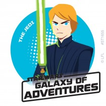 Star Wars Galaxy of Adventures Stickers