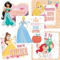 Disney Princess Dare to Sparkle Glitter Stickers