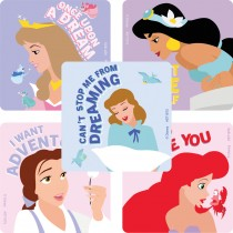 Disney Princess Painted Art Stickers