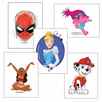 Character Temporary Tattoos Value Pack