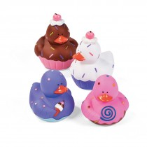 Dessert Rubber Ducks