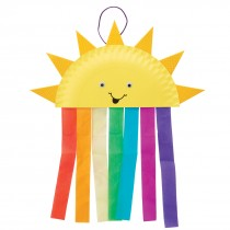 Paper Plate Sun & Rainbow Craft Kits
