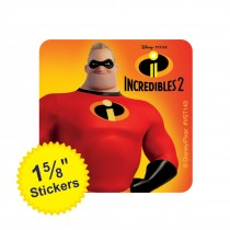 The Incredibles ValueStickers