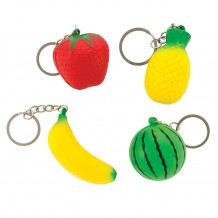 Squishie Fruit Backpack Pulls