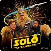 Solo: A Star Wars Story Movie Stickers