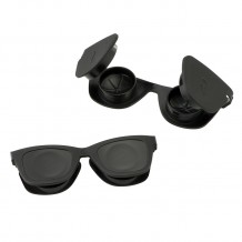 Black Sunglass Contact Lens Cases