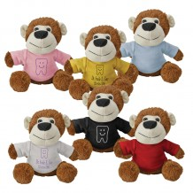 Custom Plush Fuzzy Friends Monkeys