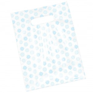 Snowflakes Scatter Print Bags