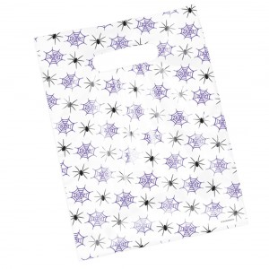 Spiders and Webs Scatter Print Bags
