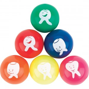 32mm Silly Tooth Bouncing Balls
