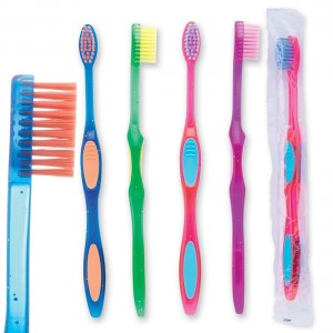 Oraline Pre-teen Sparkle Grip Toothbrushes