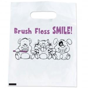 Brush Floss Smile Bags