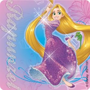 Disney Princess Friendship Glitter Stickers