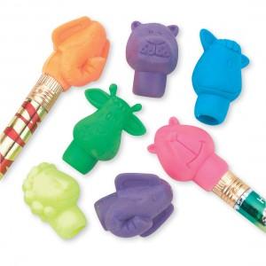 Animal Pencil Top Erasers