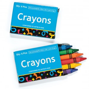 Six-Pack Crayon Boxes