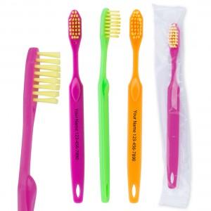 Custom SmileCare Youth Neon Toothbrush