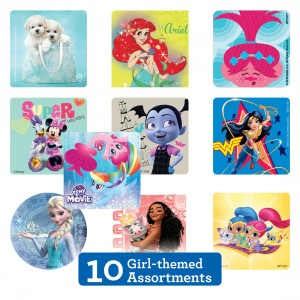 Girl Sticker Sampler