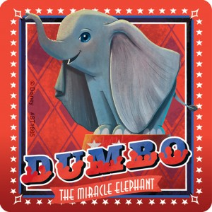 Dumbo Movie Stickers