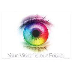 Rainbow Focus Vision Recall Cards