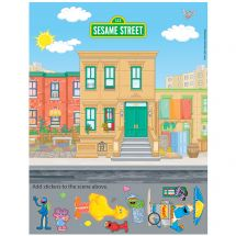 Sesame Street Sticker Activity Sheets