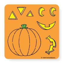 Make-Your-Own Jack-O-Lantern Sticker